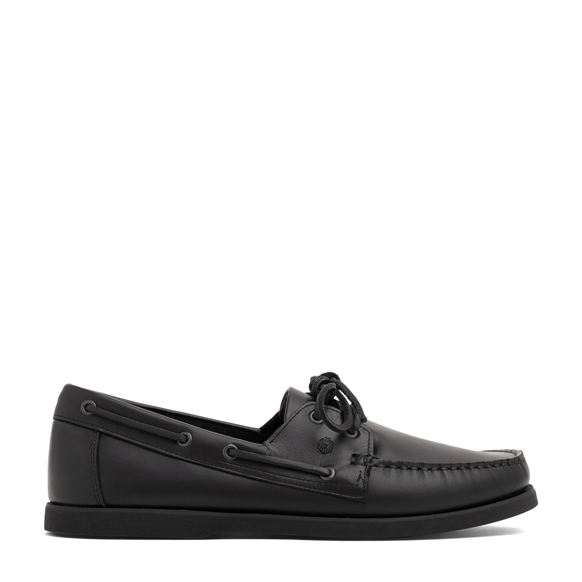 Dynamic leather boat shoes